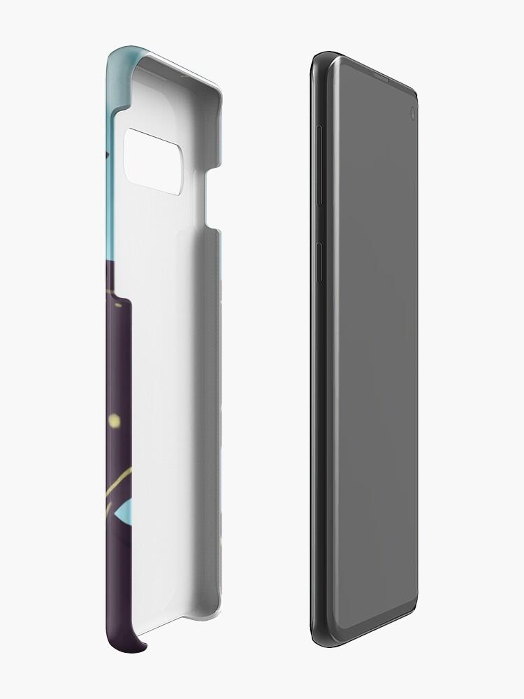 Alternative Ansicht von Hipster-Assistent Hülle & Klebefolie für Samsung Galaxy