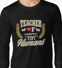d8f78a31c TEACHER OF TINY HUMANS - FUNNY KIDS GARDEN SHIRT - FUNNY ELEMENTARY SCHOOL TEACHER  T-