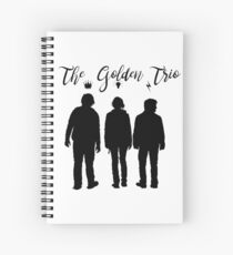 The Golden Trio Spiral Notebook
