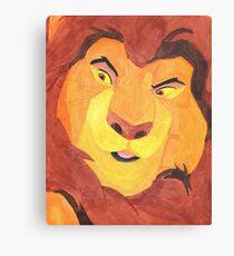 Mufasa Canvas Print