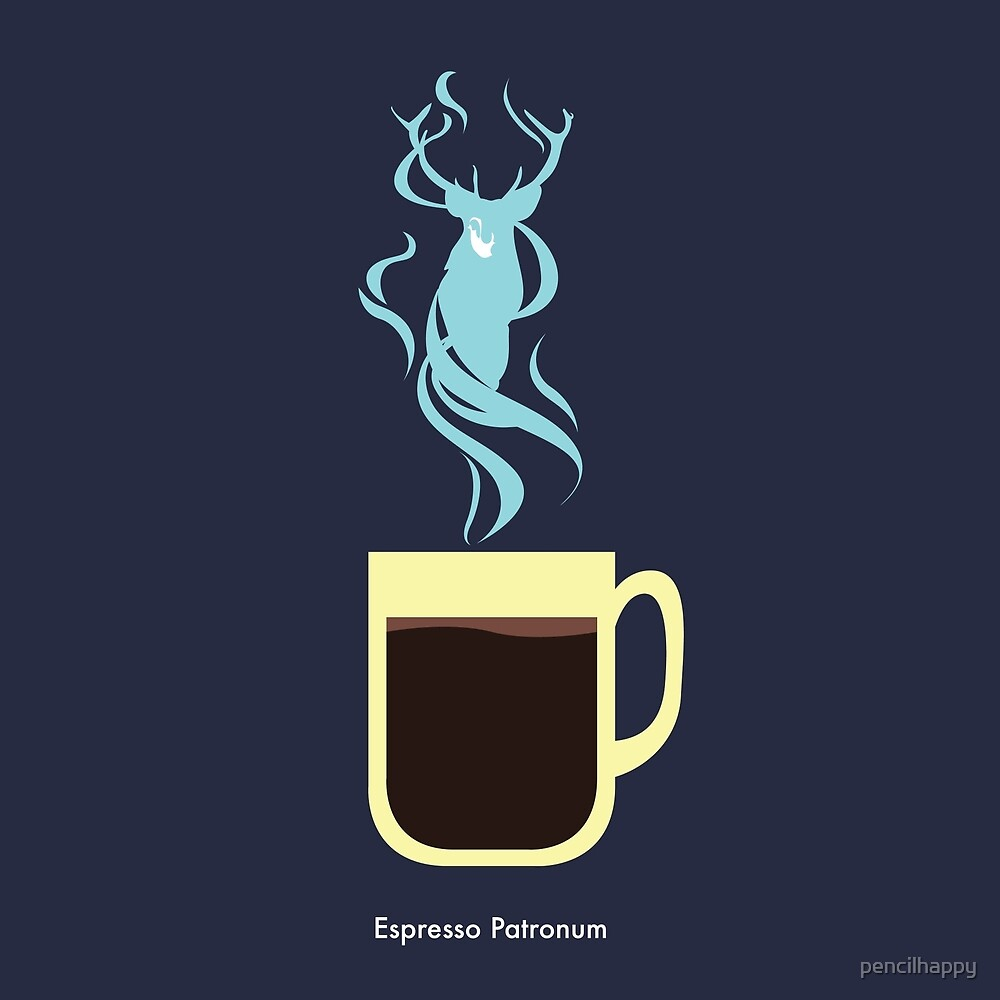 """""""Espresso Patronum!"""" by pencilhappy"""