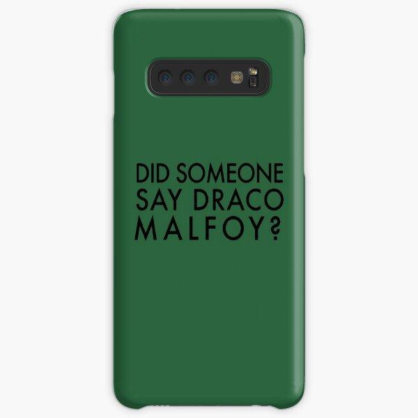 Did Someone Say Draco Malfoy? Samsung Galaxy Snap Case