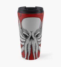 Grey Chtulhu Travel Mug