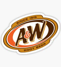 A&W Root Beer - Since 1918 Sticker