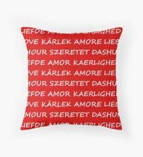 Love International Throw Pillow