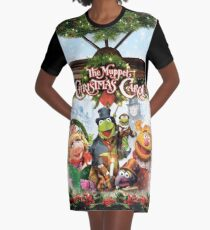 the muppet christmas carol Graphic T-Shirt Dress