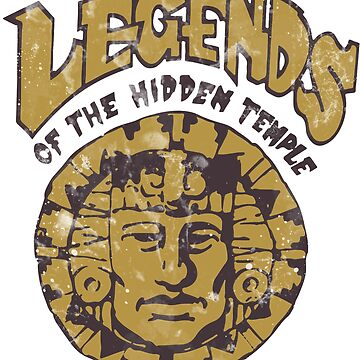 Legends of the Hidden Temple by Pop-Tacular
