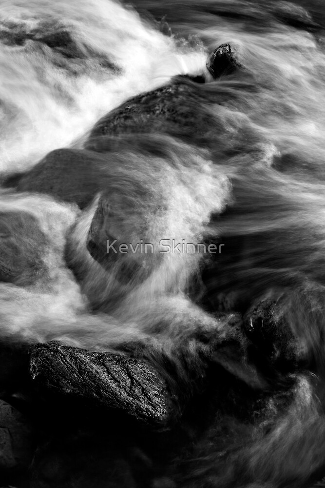 Glen Orchy Waters 6 by Kevin Skinner