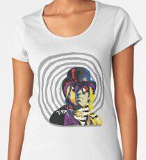 Tom Petty - Mad Hatter Women's Premium T-Shirt