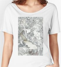 Statue Of Man (Very Detailed) Women's Relaxed Fit T-Shirt