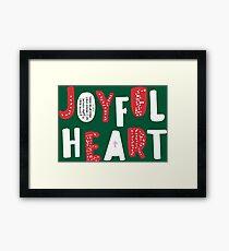 JOYFUL HEART  Framed Print