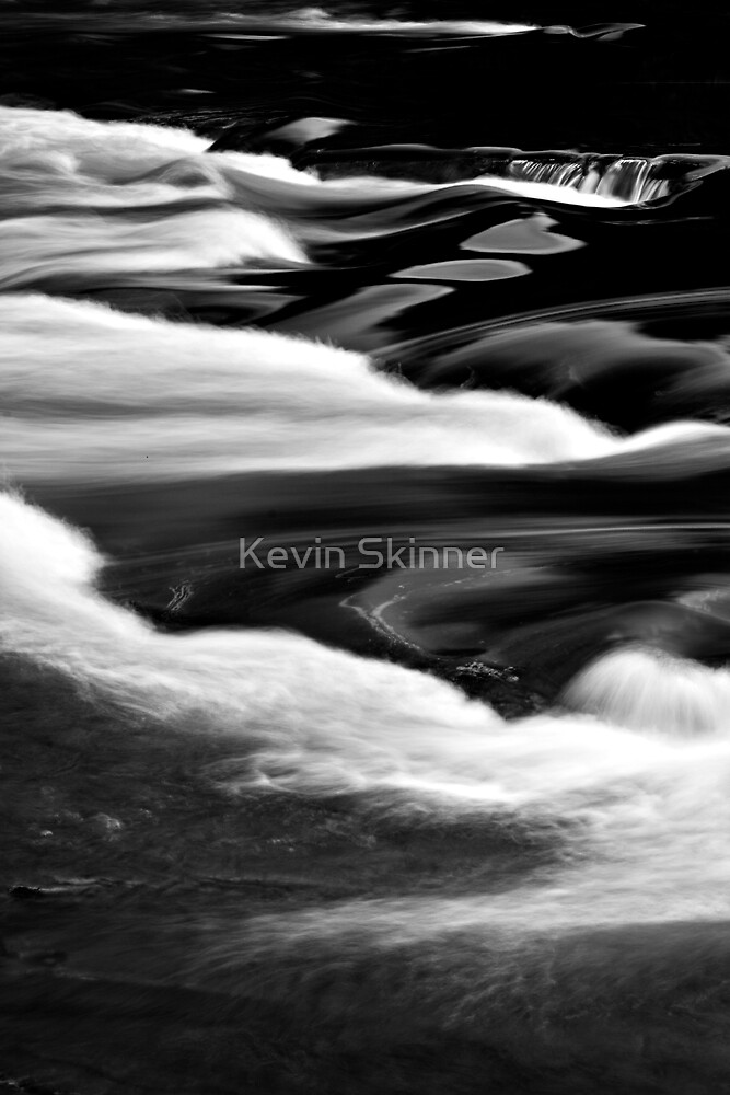 Glen Orchy Waters 9 by Kevin Skinner