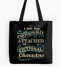 Bolsa de tela Estoy demasiado apegado emocionalmente a los personajes de ficción: la versión sirena