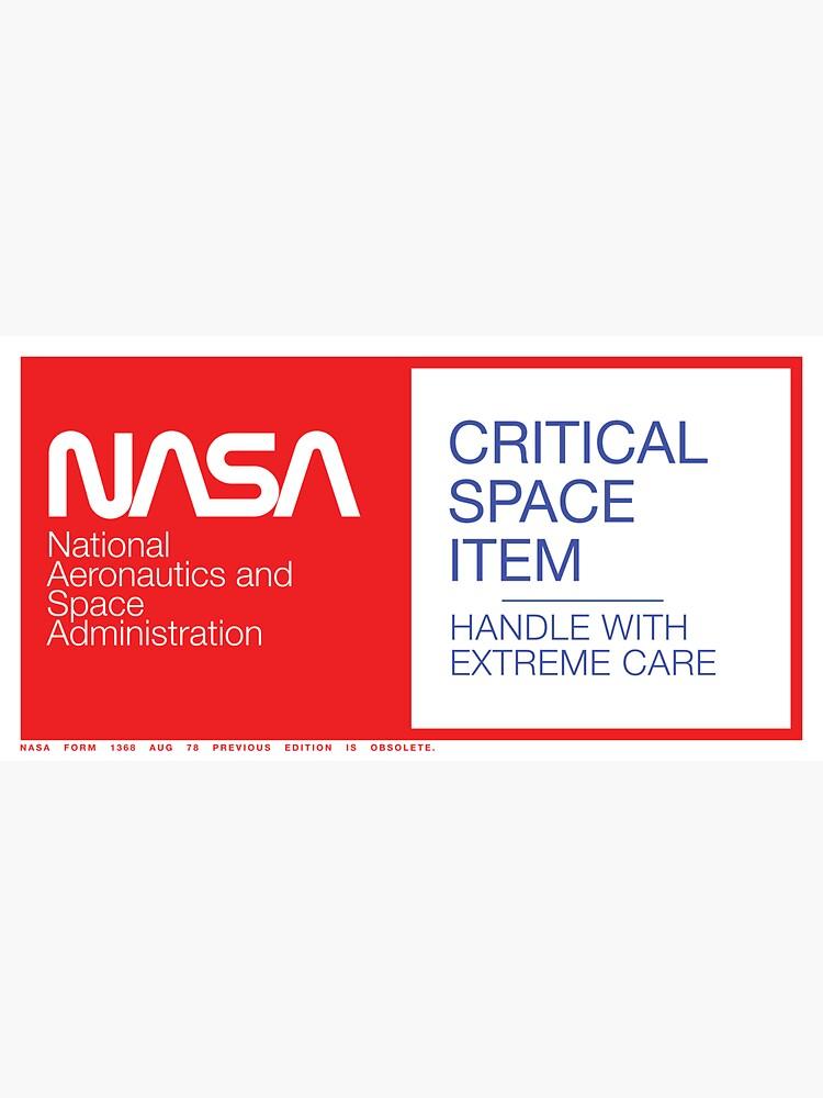 NASA Critical Space Item by kuroderuta