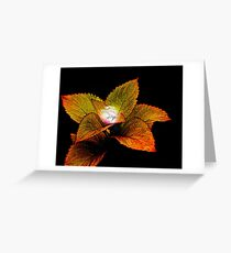 Dragon Plant Patronus Greeting Card