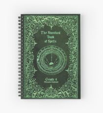 The Standard Book of Spells Spiral Notebook
