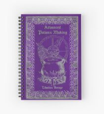 Advanced Potions Making Spiral Notebook