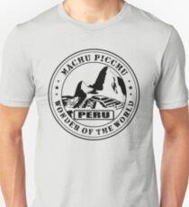 Machu Picchu Wonder of the World Unisex T-Shirt