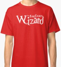 Real Estate Wizard Classic T-Shirt