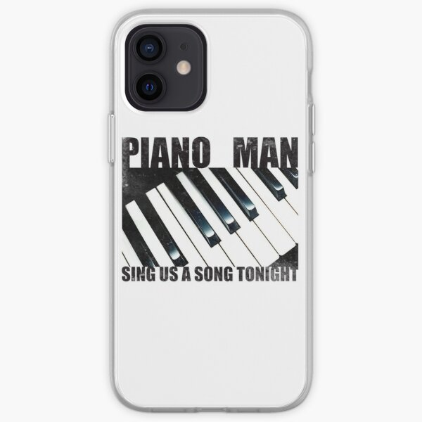 Piano Man iPhone Soft Case