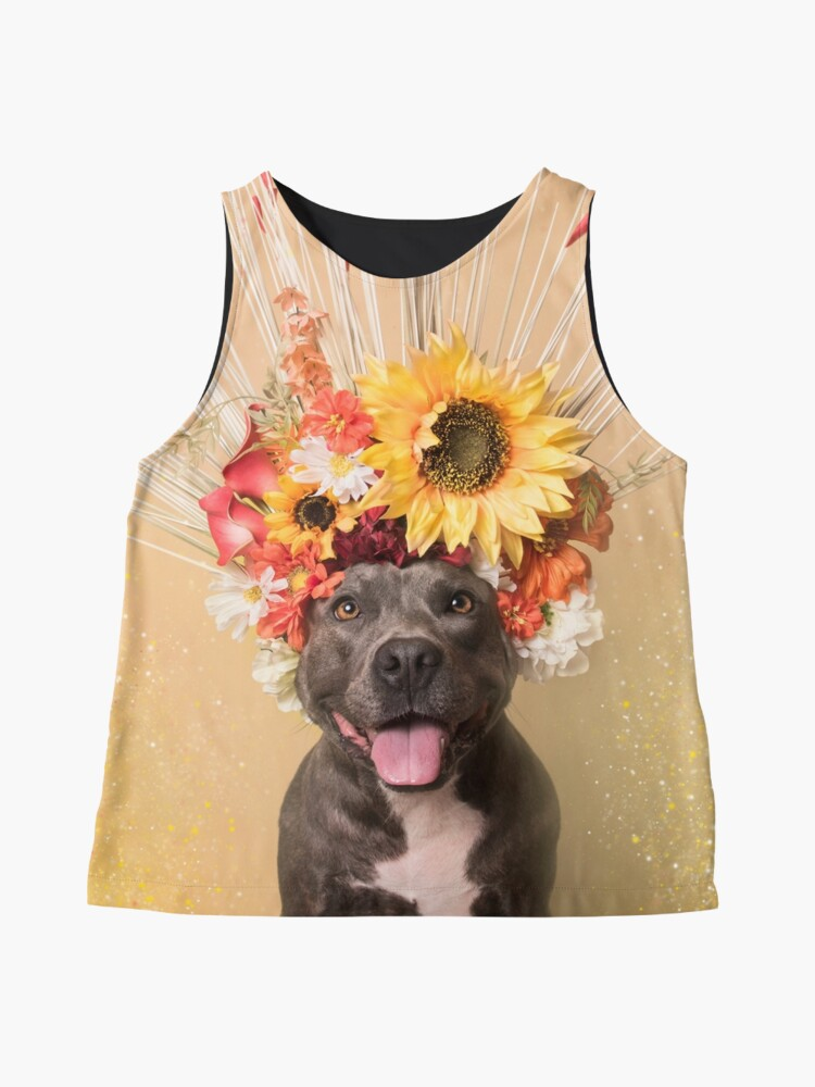 Alternate view of Flower Power, Holiday Sleeveless Top