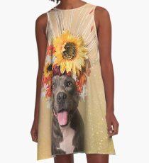 Flower Power, Feiertag A-Linien Kleid