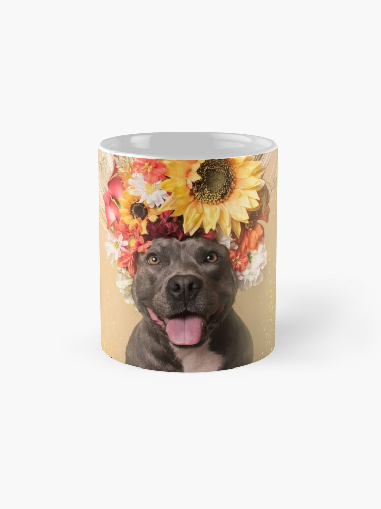 Alternate view of Flower Power, Holiday Mug