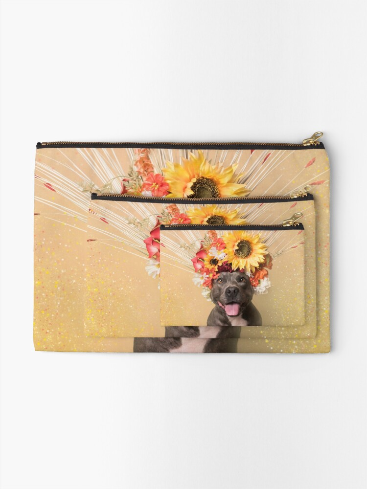 Alternate view of Flower Power, Holiday Zipper Pouch