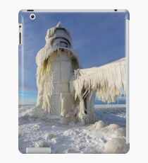 Vinilo o funda para iPad St. Joseph Lighthouse in Winter