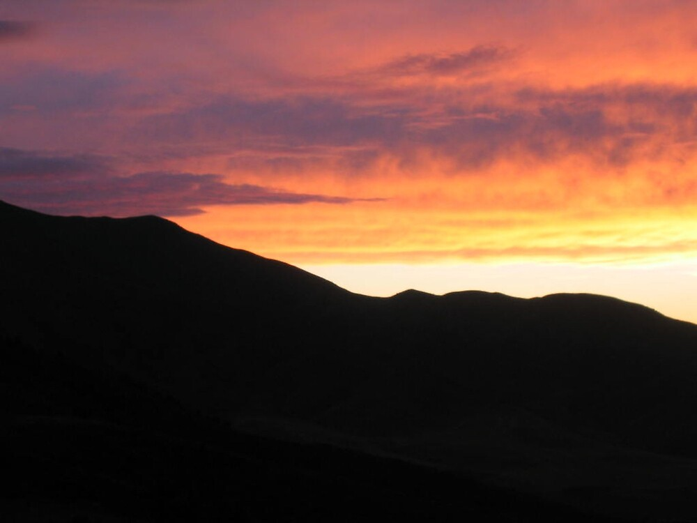 Sunset in Kyrgyzstan by KZBlog