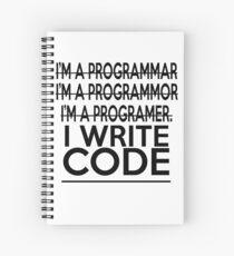 Programmer Joke Spiral Notebook