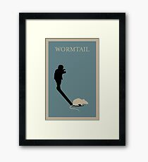 Wormtail Framed Print