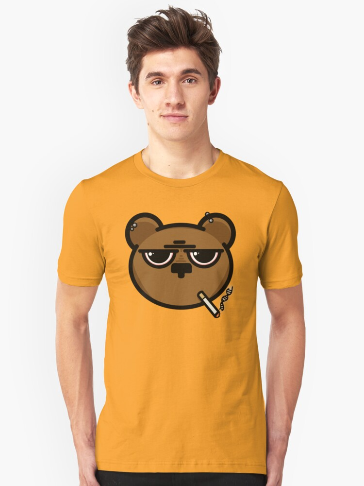 Stress Bear... Unisex T-Shirt Front