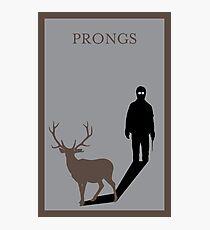Prongs Photographic Print