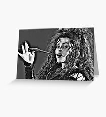 Bellatrix Lestrange Greeting Card