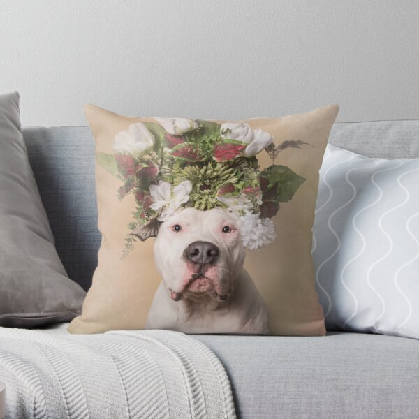 Flower Power, Blinx Throw Pillow