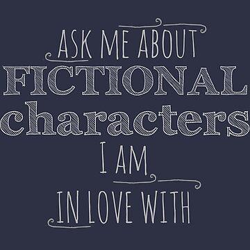 Pregúntame acerca de personajes de ficción de los que estoy enamorado de FandomizedRose
