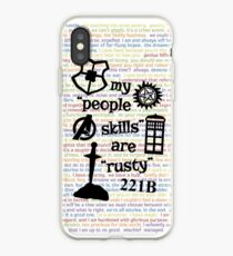 """Meine """"People Skills"""" sind """"Rusty"""" V2 iPhone-Hülle & Cover"""