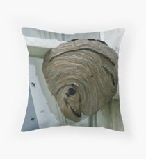 Hornets Nest Throw Pillow