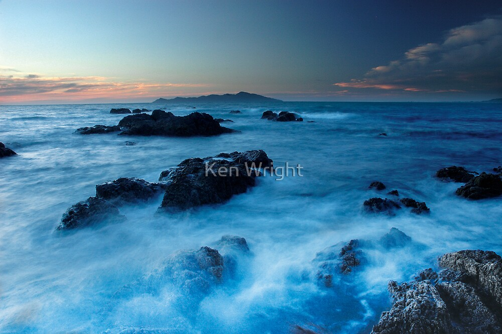 Water In Motion 5 by Ken Wright