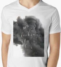 """""""Here's looking at you, kid"""" Men's V-Neck T-Shirt"""