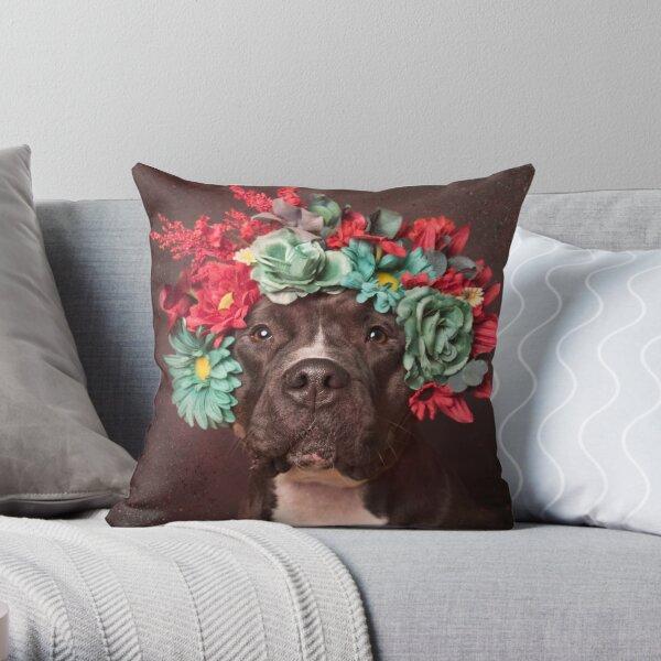 Flower Power, Molly Throw Pillow