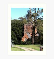 St Pauls Anglican Church, Carcoar, NSW Art Print
