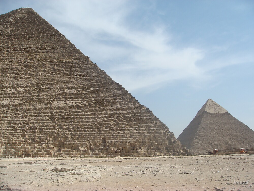 Great Pyramids I by Jewell