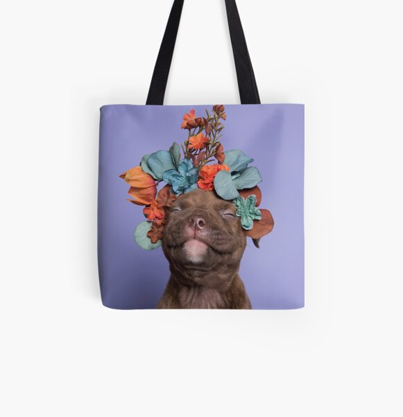 SweetPea, Flower Power All Over Print Tote Bag