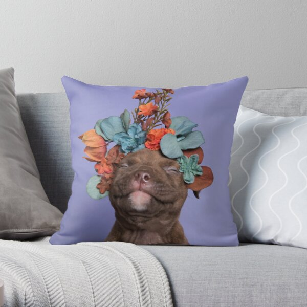SweetPea, Flower Power Throw Pillow