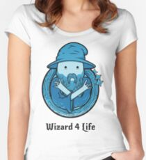 Wizard 4 Life Women's Fitted Scoop T-Shirt