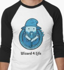 Wizard 4 Life Men's Baseball ¾ T-Shirt