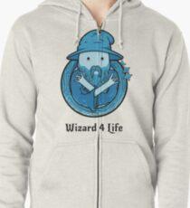 Wizard 4 Life Zipped Hoodie