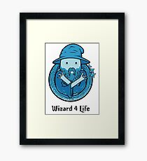 Wizard 4 Life Framed Print